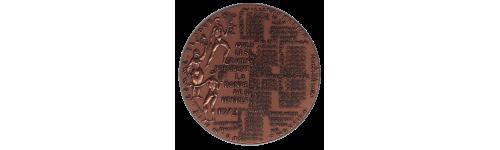 Médailles Calendrier